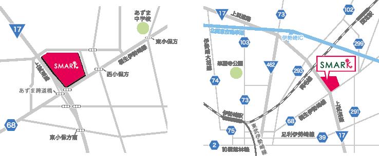 周辺・広域マップ