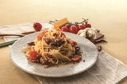 ホタルイカとセミドライトマトのペペロンチーノ250